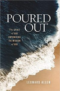 The book Poured Out by C. Leonard Allen.